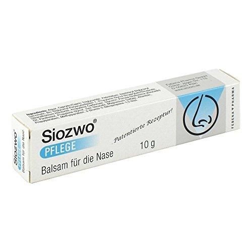 Siozwo Pflege Balsam für die Nase, 10 g