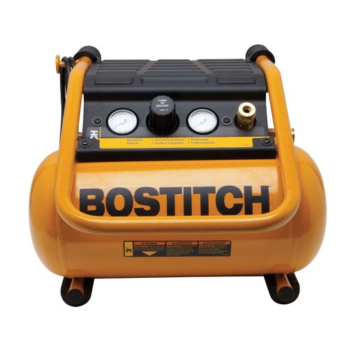 BOSTITCH Air Compressor, Suitcase-Style, 2.5 Gallon, 150 PSI (BTFP01012)