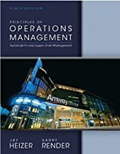 Principles of Operations Management Plus NEW MyOMLab with Pearson eText -- Access Card Package (9th Edition) [Hardcover] [2013] 9 Ed. Jay Heizer, Barry Render