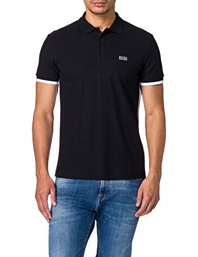 BOSS Paddy 3 10233811 01 Camisa de Polo, Negro1, S para Hombre