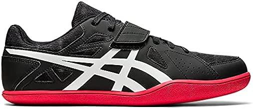 ASICS Men's Hyper Throw 3 Track & Field Shoes, 15, Black/White