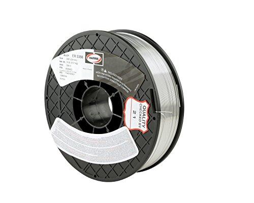 "Harris 05356E5 5356 Aluminum MIG Welding Wire, 0.030"" x 5 lb. Spool"