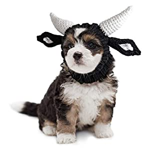 Zoo Snoods Bull Dog Costume – Neck and Ear Warmer Hood for Pets