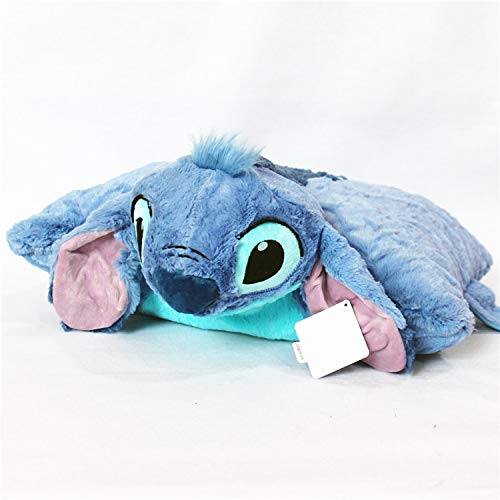 LYH2019 Lilo and Stitch Plush Toys Doll Pillow Folded Cushions Stuffed Animals Soft Toys for Children Kids Birthday Gift Car Decoratio