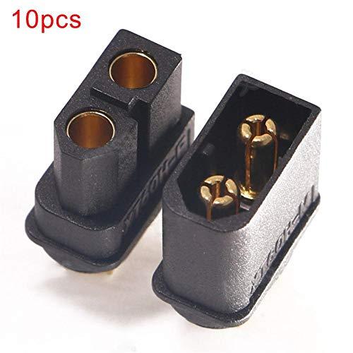 2 paire ec3 Goldstecker connecteur 3,5mm fiches bananes Connector goldkontakt Gold
