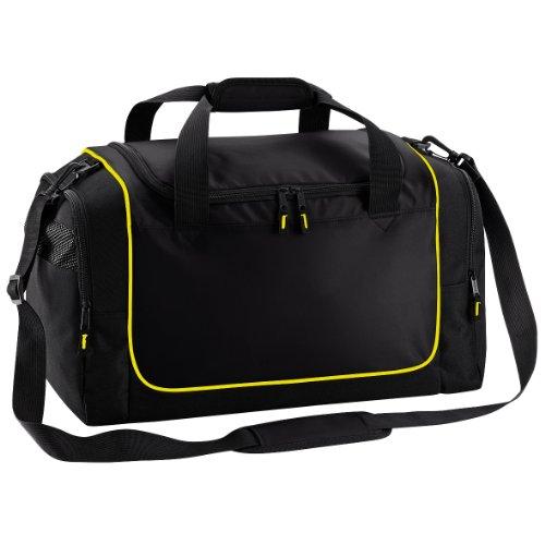 Quadra Sac de sport Teamwear Locker - 30 litres (Taille Unique) (Noir/Jaune)