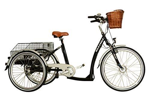 günstig Wild Eagle 26/24 ″ Dreirad Elektro Made in Germany, Sonderedition, Schwarz Vergleich im Deutschland
