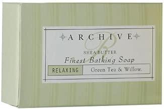 Archive Essentials Green Tea & Willow Bath Soap 2.25oz Each, Set of 9