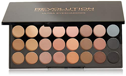 Makeup Revolution Ultra 32 Shade Oogschaduwpalet, flawless mat, 16 g