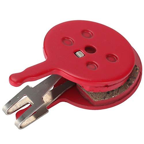 ManalaSa (P193BP) de Freno de cerámica Pastilla de Disco Pastillas de Freno para Sram Avid MTB Semi-Metallic Rojo