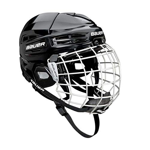 Bauer Ims 5.0 Ii Hockey Helmet/Mask Combo Black L
