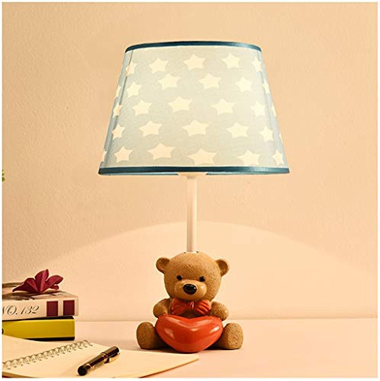CJW Kinder Schlafzimmer Nachttischlampe - Augenschutz Schreibtisch College Schlafsaal Studie Schlafzimmer Wohnzimmer Schlafzimmer