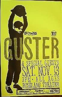 Guster Rare Original Roseland Theater Portland Oregon Concert Gig Poster