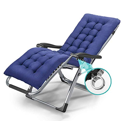 HUAXUE ZHXZHXMY Wohnmöbel - Zero Gravity Chair Sonnenliege Lounge Chair Außen Yard Beach Klappstuhl mit justierbarem Kissen, Unterstützung 380lbs (Farbe: D) (Color : D)