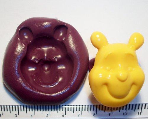 Moule en silicone en forme de Winnie l'ourson pour décoration de gâteau