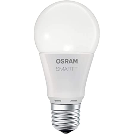 OSRAM Smart+ Ampoule LED Connectée   Culot E27   Forme Standard   Dimmable   Blanc Chaud 2700K   8,5W (équivalent 60W)   Zigbee - Compatible Android & Amazon Alexa