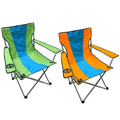 Ak Sport Chaise Parapluie Orange/Bleu and Bleu/Vert