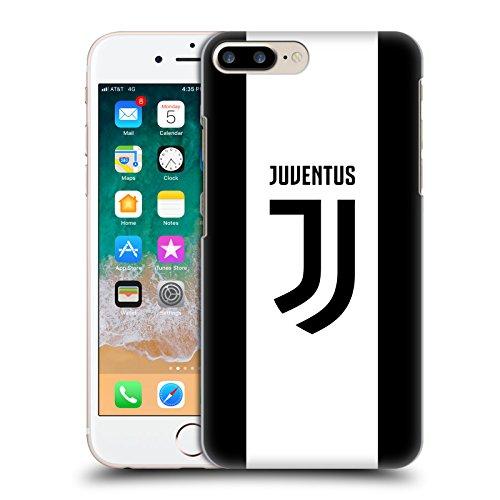 Head Case Designs Ufficiale Juventus Football Club in Casa 2017/18 Race Kit Cover Dura per Parte Posteriore Compatibile con iPhone 7 Plus/iPhone 8 Plus