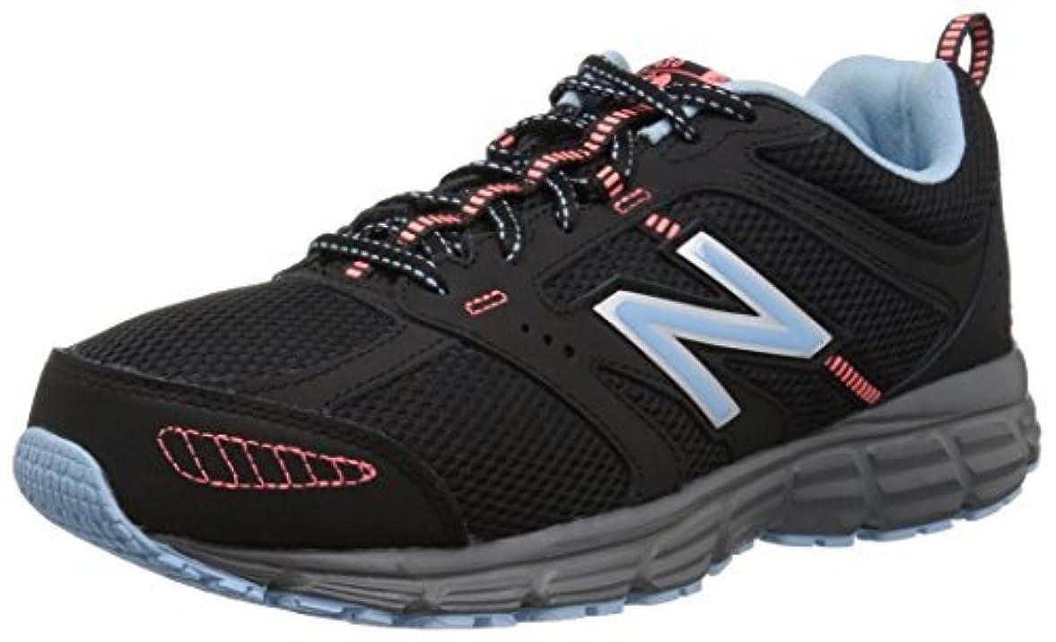 誘う一般的に言えば道New Balance Women's 430v1 Running Shoe Black/Thistle 7.5 B US [並行輸入品]