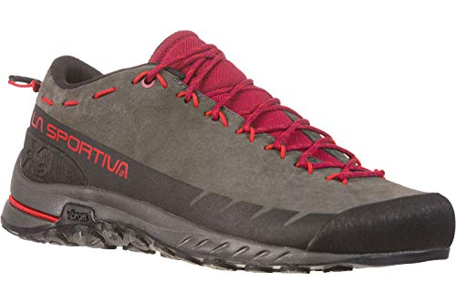 La Sportiva TX2 Leather W Zapatillas de aproximación Carbon/Beet