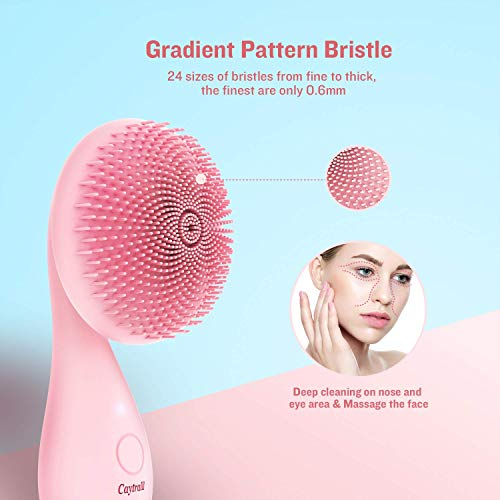 Caytraill Silicone Facial Cleansing Brush