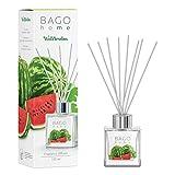 BAGO home Juego de difusor de varillas de aceite aromático, sandía, sandía, manzana verde y notas de sándalo, 100 ml