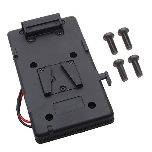Shuangyu V-Mount - Adaptador de corriente para cámara de vídeo Sony DSLR...