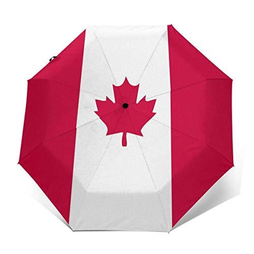 Paraguas Plegable automático de la Bandera Canadiense