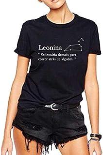 Camiseta Leonina Signo
