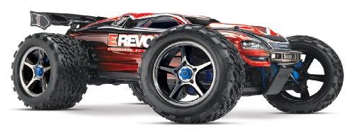 Traxxas TRX56087-1 - Monster Truck radiocomandato E-Revo brushless RTR, 4WD, con Caricatore 12 V, Nero