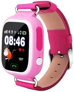 GPS Telefon Özellikli Akıllı Çocuk Takip Saati (Pembe)