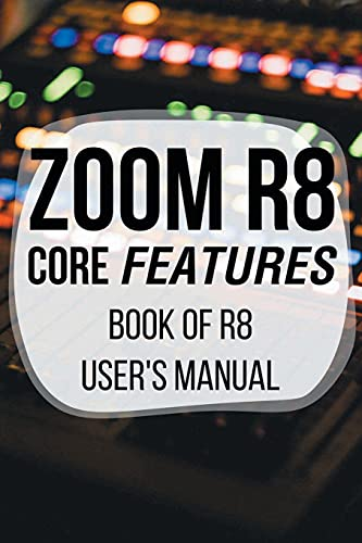 Zoom R8 Core Features: Book Of R8 User's Manual: Zoom R8 Power Supply