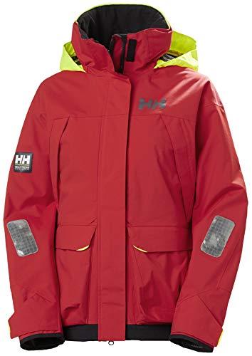 Helly Hansen W Pier Jacket Chaqueta, Mujer, Alert Red, S