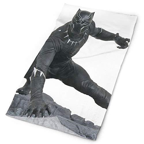 Black-Panther - Bandanas multifuncionales para la cara, bufanda, diademas para el polvo, al aire libre, festivales, deportes