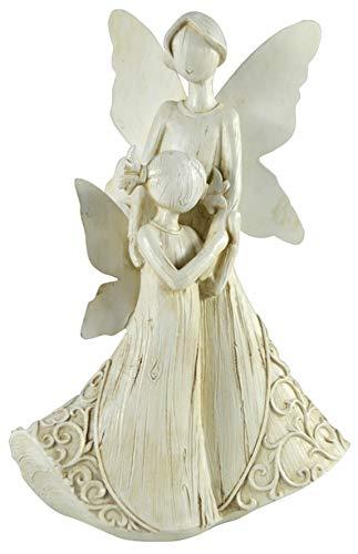 Netagon Mother and Child Angel Ornament Statue Figurine for Indoor Home & Outdoor Garden