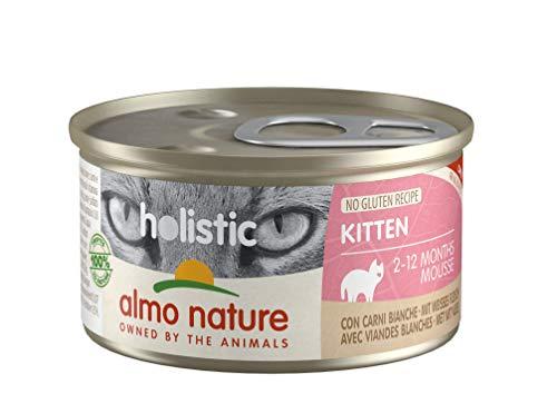Almo Nature Almo Nature Holistic Kitten - Cibo Umido per Gattini con Carni Bianche - 2.4 kg
