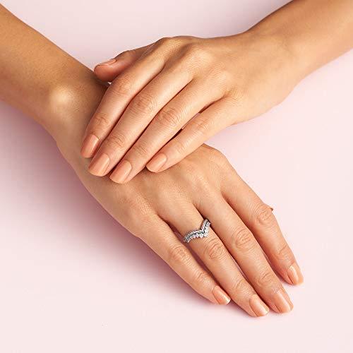 Pandora Princess Wish Ring Size 3.75 197736CZ46