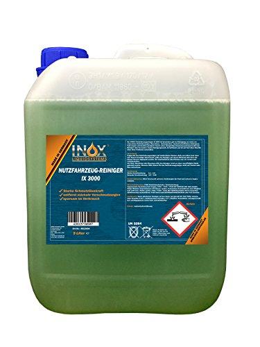 INOX® IX 3000 Nutzfahrzeugreiniger, Aktivreiniger für Planen, LKW und KFZ - 5 Liter