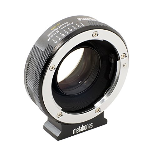 Metabones Sony Alpha to E-Mount Speed Booster Ultra 0.71x (Black Matt)