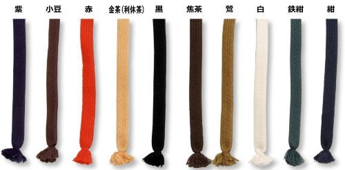 BE-TACKLE 居合刀用 純綿下緒大刀用 小豆(あずき) 日本製