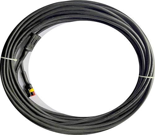 EcoBioEnergy Niederspannungskabel für – Husqvarna AUTOMOWER 315X X-Line Mähroboter – Verbindungskabel für Transformator Netzteil und Ladestation – [für Modelle ab 2019 & 2020] – (3 Meter)