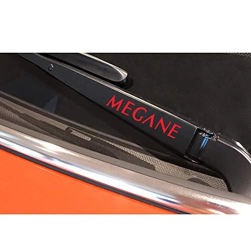 4PCS / Lot Auto Fensterwischer Aufkleber Aufkleber, für Renault Megane 2 3 4 1 Scenic Reflective Vinyl Graphical Auto Decor Autozubehör