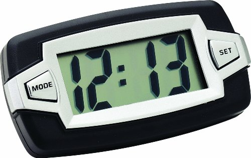 Bell Automotive 22-1-37007-8 Jumbo LCD Clock