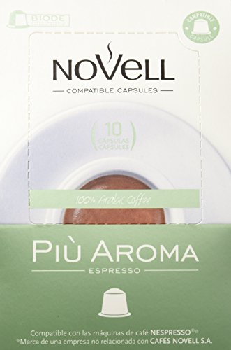 Cafes Novell Pack Più Aroma - 40 Cápsulas
