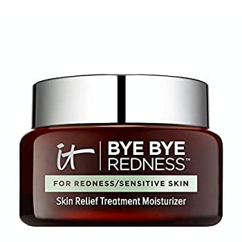 IT Cosmetics Bye Bye Redness - Sensitive Skin Moisturizer - Reduces Facial Redness - With Colloidal Oatmeal Aloe & Cucumber - 2.0 oz