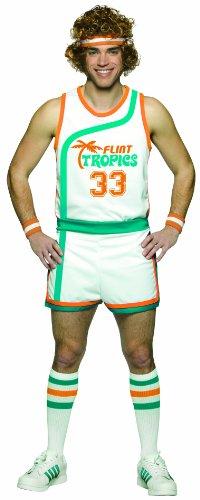 Rasta Imposta Semi Pro Uniform Costume, Multi-Colored, One Size