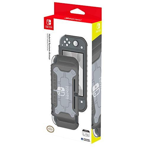 Hori Cover Protettiva ibrida (grigia) Per Nintendo Switch Lite - Ufficiale Nintendo - Nintendo Switch
