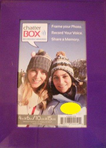 Chatterbox Plain 4x6 Photo Frame