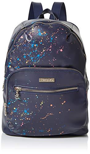 Desigual Bag Siracusa Lima Women - Borse a zainetto Donna, Blu (Marino), 11x34x25 cm (B x H T)