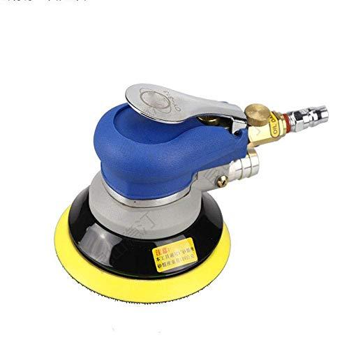 ViewSys Abrasive, Alta Resistencia neumática Rectificadora, balanceo Eje excéntrico Diseño 5 Pulgadas neumático Papel de Lija máquina multifunción y ergonómico Pincel de Pulido,